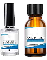 Nail Prep Dehydrator Primer Set Natural Nail Art Nail Bonding Primer Manicure Kit Style3, Fashion Manicure Girl