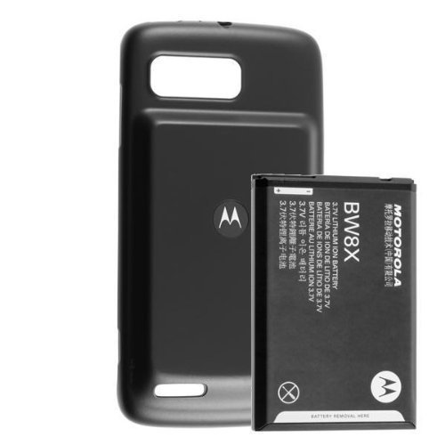 OEM BW8X Motorola Atrix 2 MB865 Extended Battery 2760mah and Extended door cover