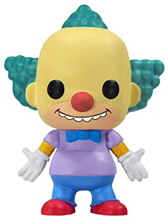 Funko - Figurine Simpsons Krusty le clown Pop 10cm https://amzn.to/2NJhaR5