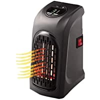 gs GREATERSCAP Mini Electric Portable Handy Air Room Fan Heater (Black)