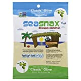 Seasnax Roasted Olive Seaweed 5 Sheets 0.54 Oz (Pack of 16) - Pack Of 16