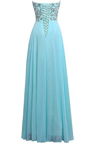 Missdressy - Vestido - para mujer Azul