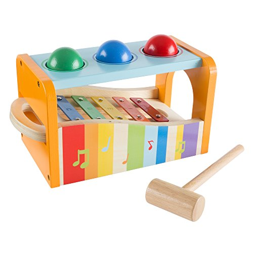 Hey!Play! 80-HJD931204 Wooden Musical Toy