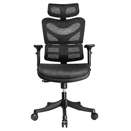 Argomax Black High Back Desk Computer Task Home Executive Ergonomic Leather Mesh Office Chair Buy Online In Egypt Missing Category Value Products In Egypt See Prices Reviews And Free