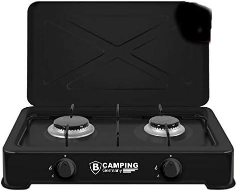 Hornillo de gas hobs 2 focos camping de cocina de gas gas ...
