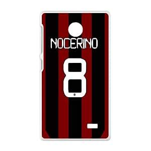 Nocerino 8 New Gattuso Design Hard Case Cover Protector For NOKIA X