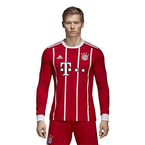 (adidas FC Bayern Munich Home Long Sleeve Jersey [FCBTRU] (XL))