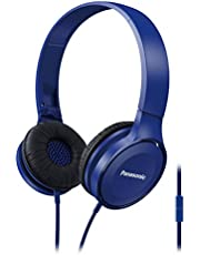 Panasonic RP-HF100GC-A Street Headphones, Blue