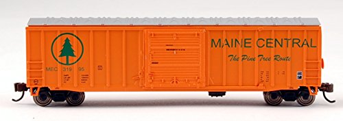 Bachmann Industries Maine Central ACF Outside Braced Sliding Door Box Car (N Scale), - Boxcar Acf