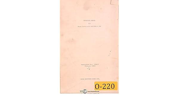 Volume 2 Lathe Program /& Operations Manual LB12 LB15 LR LC LSLH Okuma LB10
