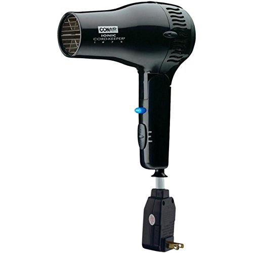 Conair Cord Keeper Hair Dryer 1875 Watt 169BIW (New Conair Hair Dryer)