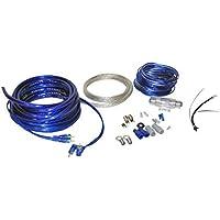 Lanzar AMPKIT4 Contaq 1800 Watt 4 Gauge Power Amp Kit
