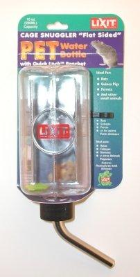 Steel Aquarium Lixit Stainless (Lixit Inside Cage Bottle 10oz)