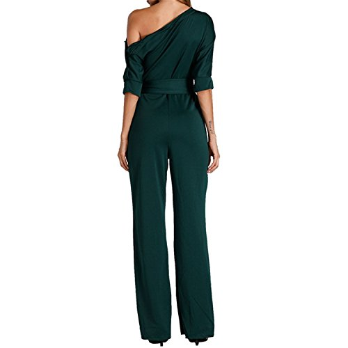 Jumpsuits Romper Women Overall Sexy One Shoulder Bodycon Tunic Jumpsuit for par by Rainlife jumpsuits