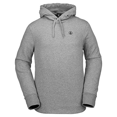 - Volcom Men's Cowl Cotton Hydro Fleece Snow Baselayer, Heather Grey, Large
