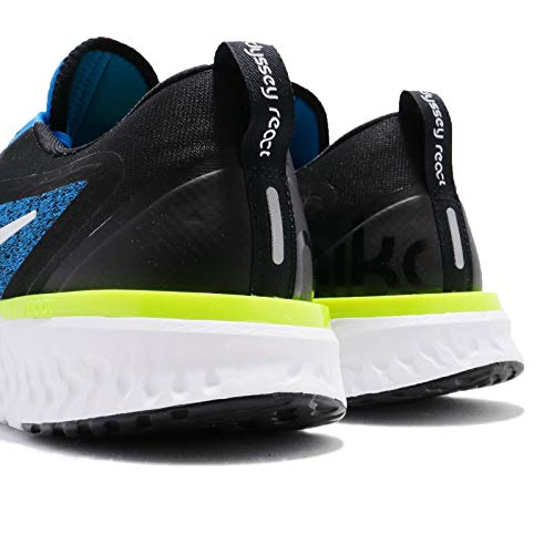Nike Men's Odyssey React Running Shoes (7.5, Photo Blue/Black) by Nike (Image #7)