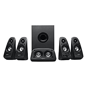 Logitech Z506 Surround Sound Home Theater Speaker System (Certified Refurbished)