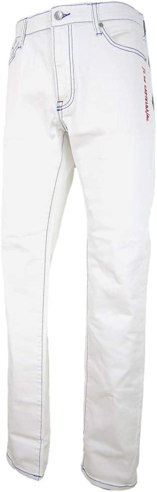 [カステルバジャック] ジーンズ 家紋ポケット パンツ メンズ 21450ー120
