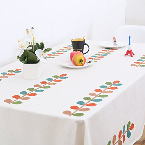 Pastoral fabric simple living room study table mat tablecloth-A 250x250cm(98x98inch) by Table Cloths