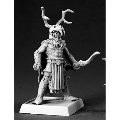 Reaper The Stag Lord Pathfinder Miniature: Toys & Games