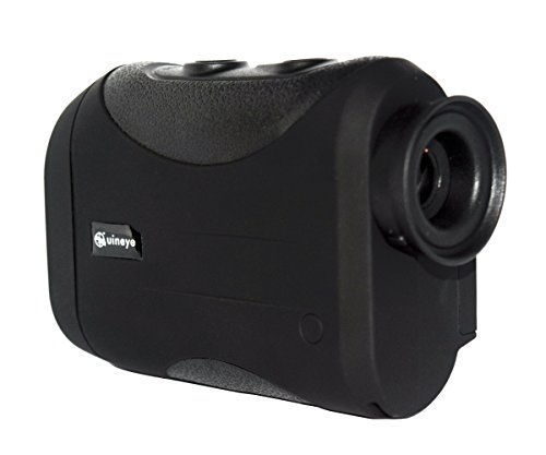 Review Uineye Golf Rangefinder – Range : 5-1312 Yards, 0.33 Yard Accuracy, Laser Rangefinder with Height, Angle, Horizontal Distance Measurement Perfect for Hunting, Golf, Engineering Survey (Black)