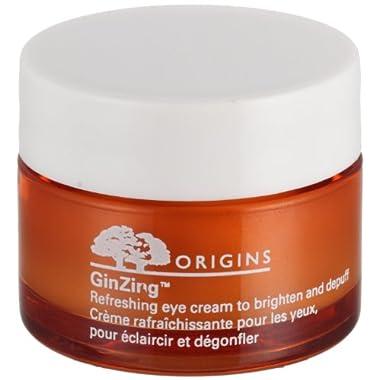 Origins Eye Care 0.5 Oz Ginzing Refreshing Eye Cream To Brighten And Depuff For Women