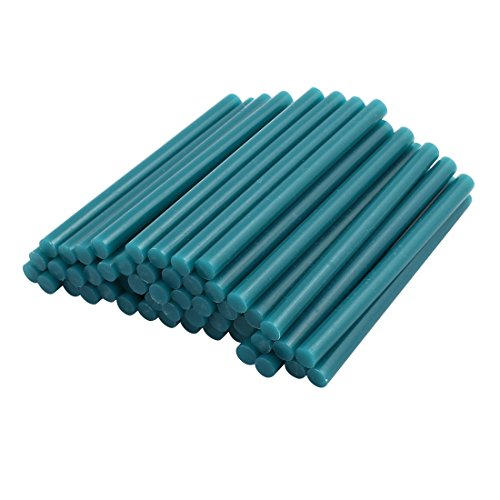 uxcell 50pcs 7mmx100mm Economy Hot Melt Glue Sticks Green for DIY Small Craft Projects by uxcell