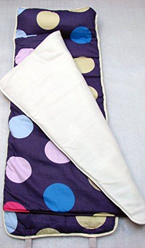 SoHo Nap Mat , Lavender Polka Dot (Nap Dot Polka)