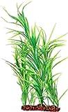 POPPY PET 062216 16 in. Freestanding Aquarium Plant - Dark Green