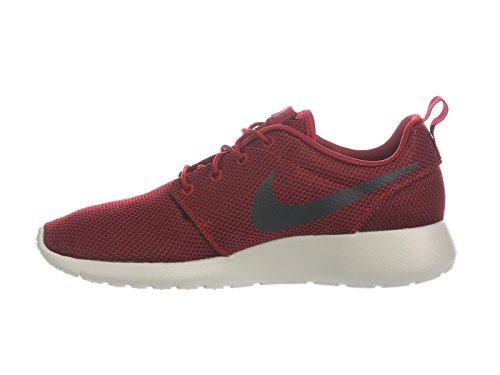 Nike Mens Roshe One Nylon Scarpe Da Corsa Team Rosso / Nero / Bordeaux / Grigio Pallido