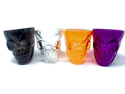 40 Bulk Halloween Party Favor Shot Glasses ()