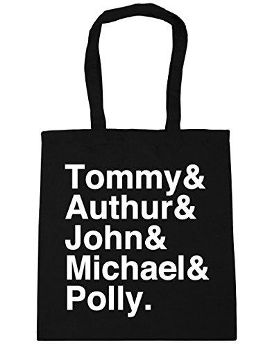 HippoWarehouse Shelby familia Tote Compras Bolsa de playa 42cm x38cm, 10litros negro