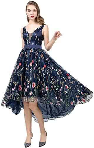 984b7f467947 YSMei Womens Long 3D Flower Prom Party Dress Backless Formal Evening Gown  YPM458