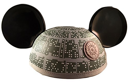 Disney Star Wars Rogue One Death Star Mickey Mouse Ears Hat - Disney Parks Exclusive -