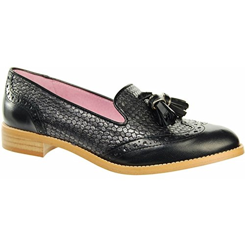 Slip Black Belva On Tassel Shoes Y250 CAPOLLINI Black Womens 8FRgUxwqt