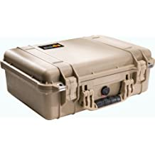 Pelican 1500 Ems Organizer Watertight Hard Case With Dividers & Lid Organizer...
