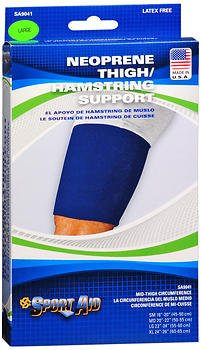 Sport Aid Neoprene Thigh/Hamstring Support Large 1 Each (Pack of 6)