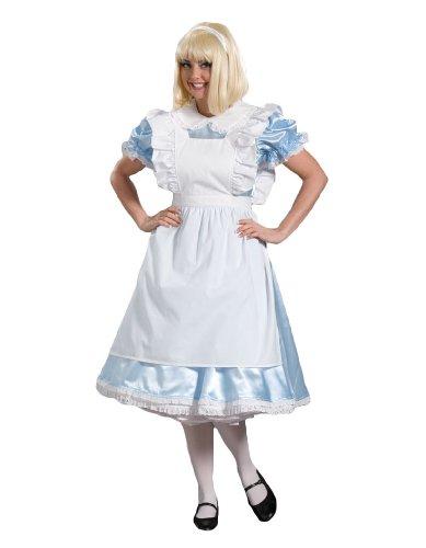 Buy light blue alice in wonderland dress - 9