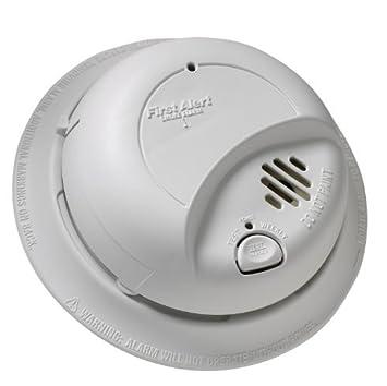 First Alert BRK 9120b detectores de humo alarma con respaldo de batería, tamaño individual: