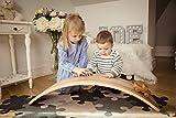 Duck Woodworks Ash balance board | Montessori wooden board | Rocking board | Wobble board