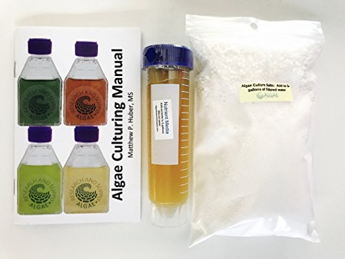 Algae Research Supply: Media Kit: Media for 5 Gallons of Spirulina or other Alkali Algae