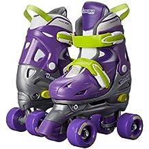Chicago Kids Adjustable Quad Roller Skates - Purple