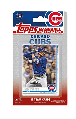 Chicago Cubs 2019 Topps Factory Sealed Limited Edition 17 Card Team Set with Kris Bryant and Javier Baez Plus