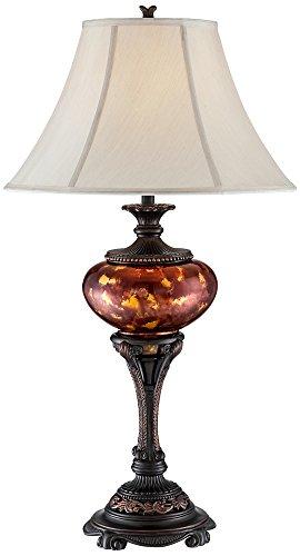 glass urn lamp - 9