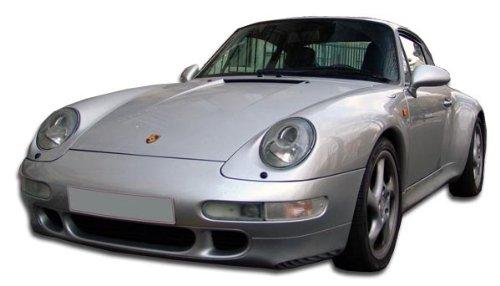 Turbo Look Front Bumper Cover - 1 Piece Body Kit - Fits Porsche 993 1995-1998