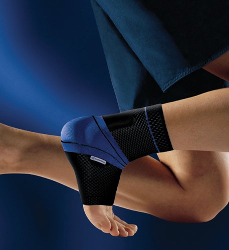 MalleoTrain Ankle Support Sz 3 Left 8-1/4 to 9 Black by AmericanMedMart.com