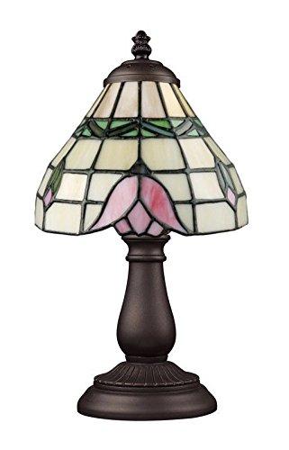 照明の一致ライトミニテーブルランプTiffanyブロンズ B071J3RLMM
