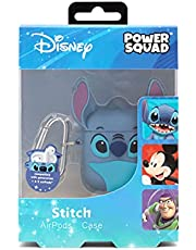 Disney PSQACST15 Stitch Leuke Oordopjes Draadloze Hoofdtelefoonhoes, Blauw, 2,5 x 5,56 x 1,9 cm