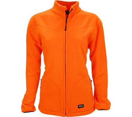 Walls Women's Legend Polar Fleece Jacket, Blaze Orange, Large ()