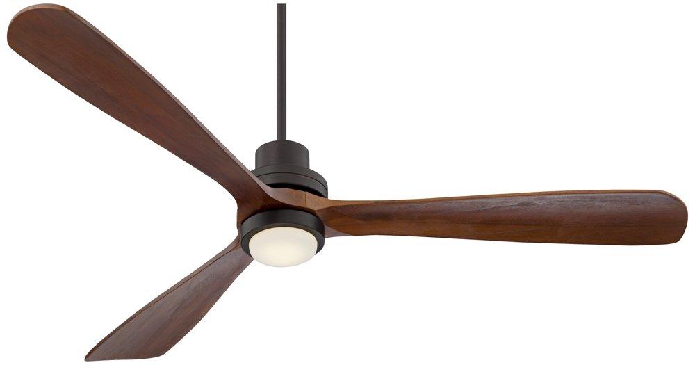 66'' Casa Delta-Wing XL Bronze LED Ceiling Fan